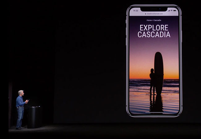 Apple iPhone X Hans Gauger Responsive Website Design